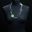 Halskette dreifarbig