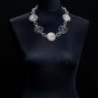 Halskette zweifarbig