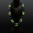 rubber-Halsschmuck, zweifarbig