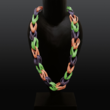 rubber-Halsschmuck, dreifarbig
